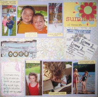Summer Layout